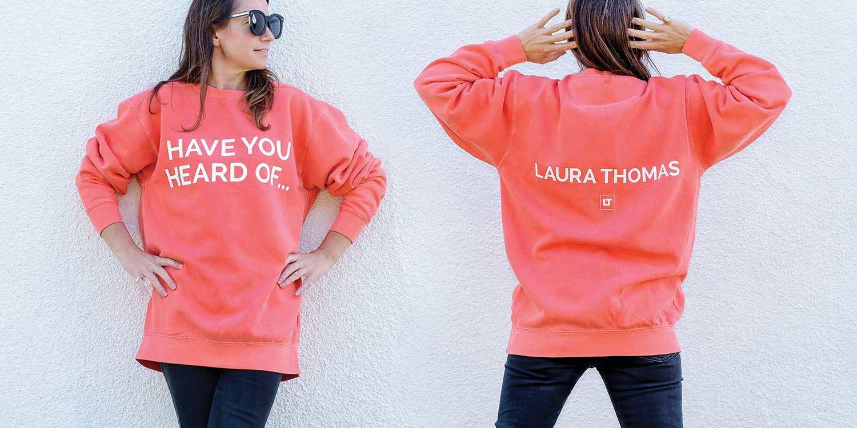 Laura Thomas outside