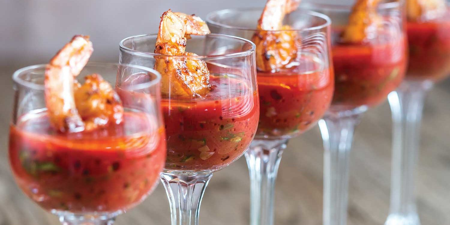 Bloody Mary Prawns