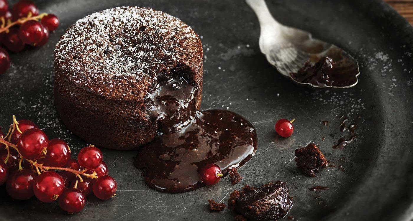 Molten Chocolate Babycakes
